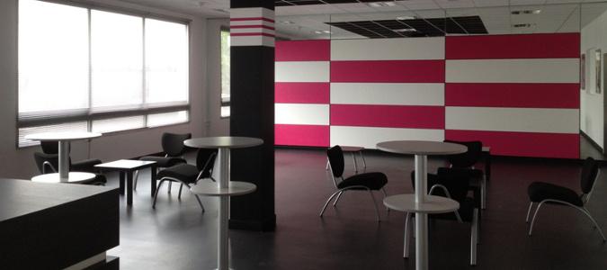 revêtement de sol et mur décoratif pour locaux