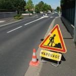 marquage routier signalisation horizontale